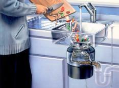 Новинка: «UNIPUMP» серии «BH» — кухонный измельчитель пищевых отходов для раковины